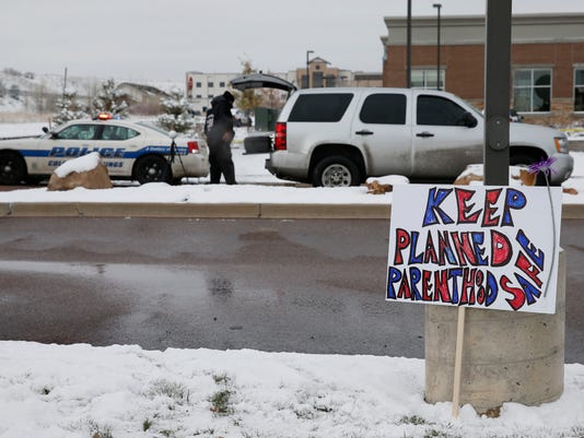 AP PLANNED PARENTHOOD SHOOTING A USA CO