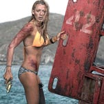 """Blake Lively must survive a shark attack in """"The Shallows."""""""