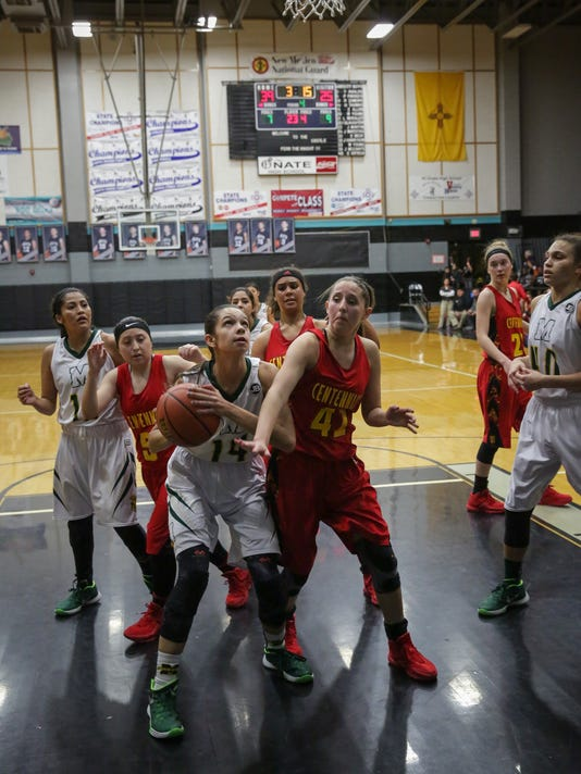 Holiday Hoopla - Centennial versus Mayfield Girls Prep Basketball