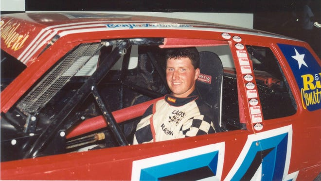 Luxemburg native Benji LaCrosse started his career in the IMCA stock car class, as shown here in 2000. Fifteen years later, LaCrosse has amassed 100 career IMCA modified feature wins.