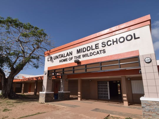 Untalan Middle School in Barrigada.