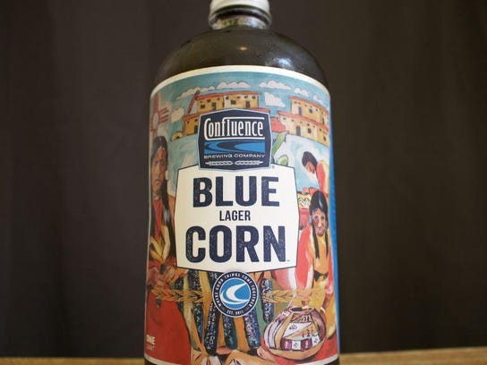 Blue Corn Lager