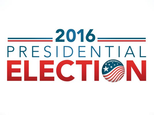 2016 Vote Presidential Election with Pin Button or Badge