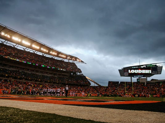 USP NFL: CLEVELAND BROWNS AT CINCINNATI BENGALS S FBN USA OH