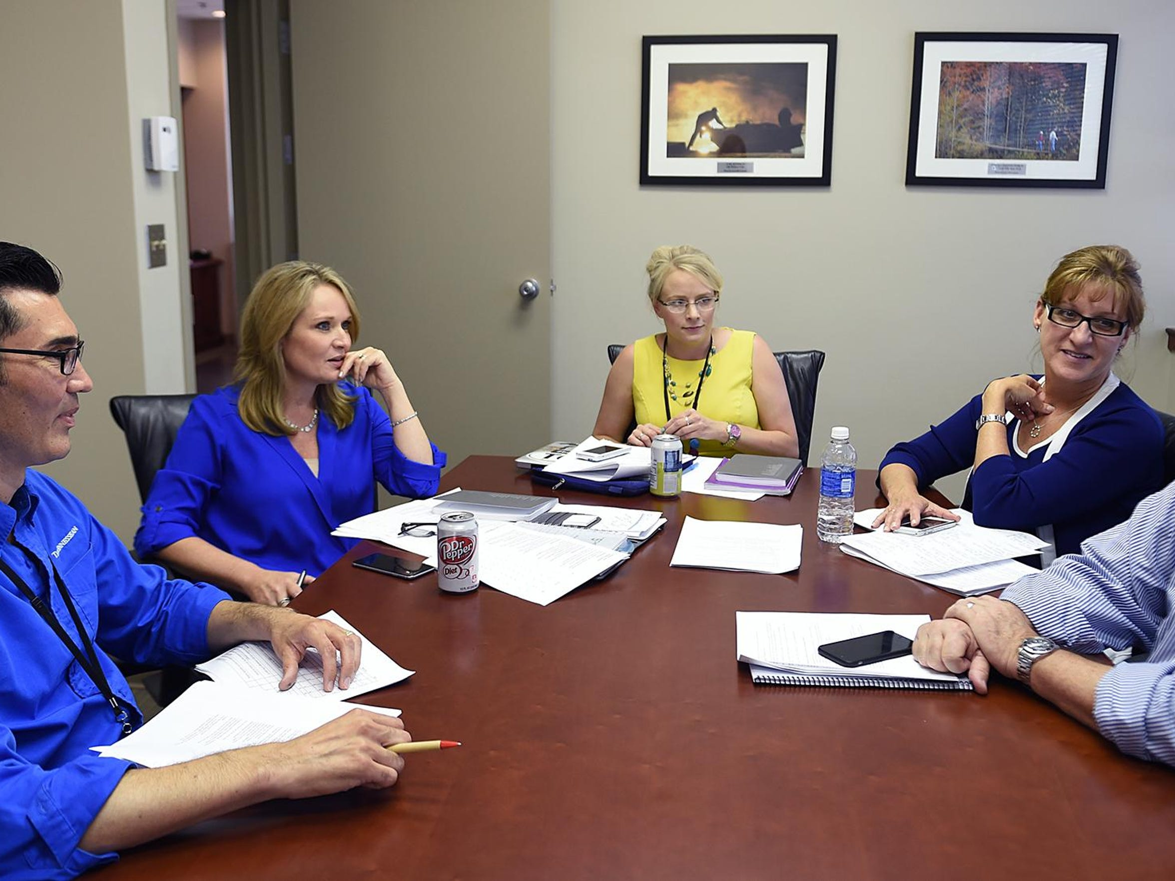 The Tennessean editorial board met Friday to decide