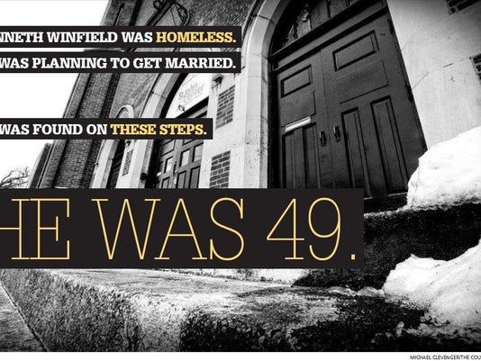 Kenneth Winfield dies homeless