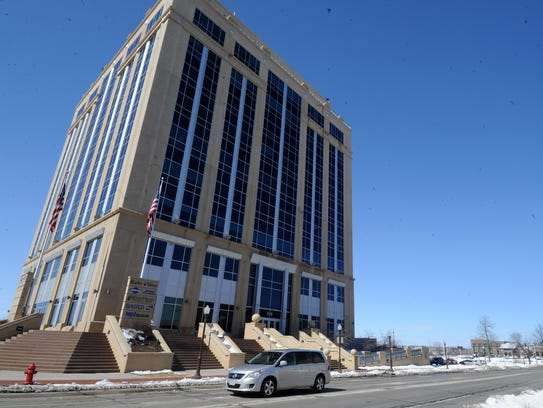 The Dudley Tower in downtown Wausau could be one of