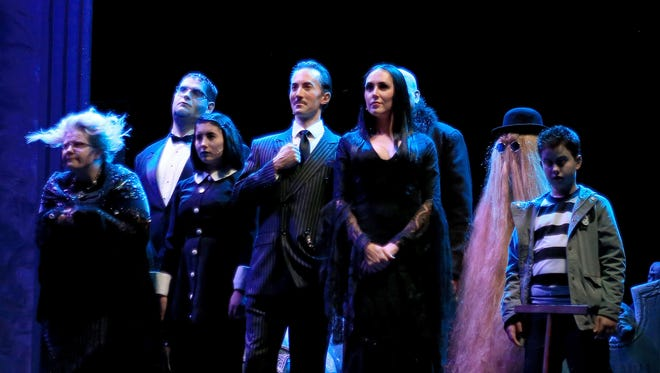"""The Stage Door presents """"The Addams Family"""" music at the Electric Theater in St. George."""