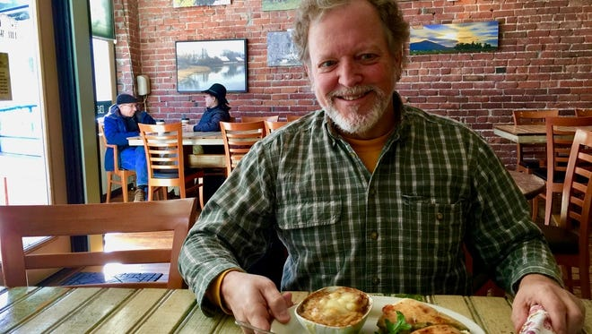 James Gilmore at Dunsmuir's Wheelhouse restaurant.