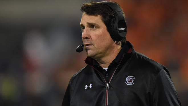 South Florida quarterback Quinton Flowers remembers being recruited by South Carolina coach Will Muschamp. What Flowers remembers most is that Muschamp, then at Florida, wanted him to change positions.