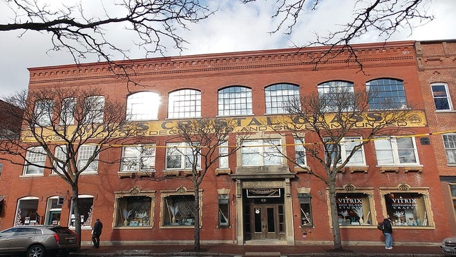 T.G. Hawkes Glass Co. Apartments received the Preservation League of New York State's Excellence in Historic Preservation award. The building is on West Market Street in Corning.