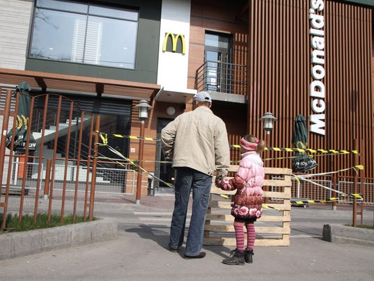 Crimea McDonald's