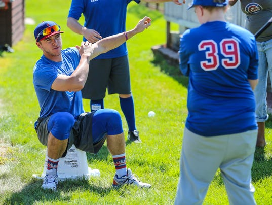 Iowa Baseball Camp for the Deaf in Johnston