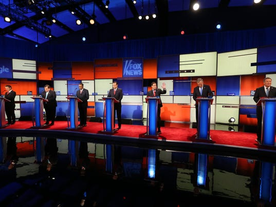 USP NEWS: REPUBLICAN DEBATE A ELN USA IA