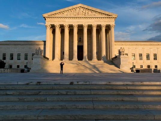 Supreme Court judge recusal