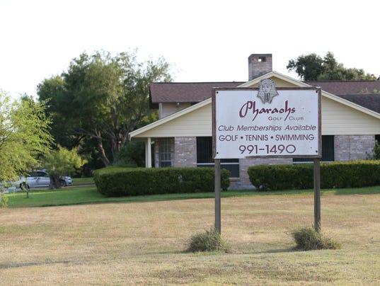 Pharaoh Valley Golf Course sign