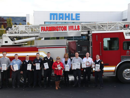 FRM smoke alarm donation