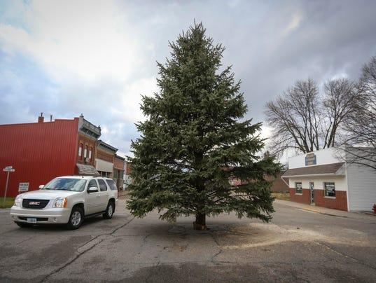 Slater Christmas tree