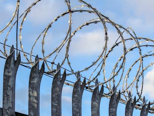 Razor Wire - Security Fence