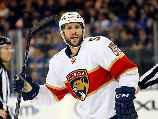 NHL: Florida Panthers at New York Rangers