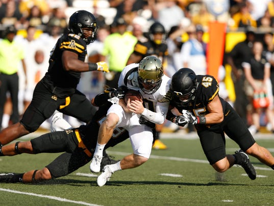 NCAA Football: Wake Forest at Appalachian State