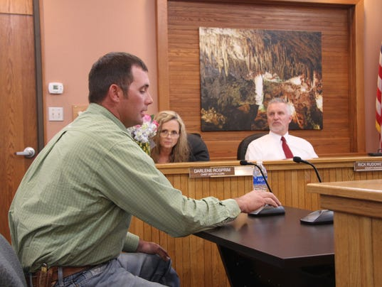 County commission meeting