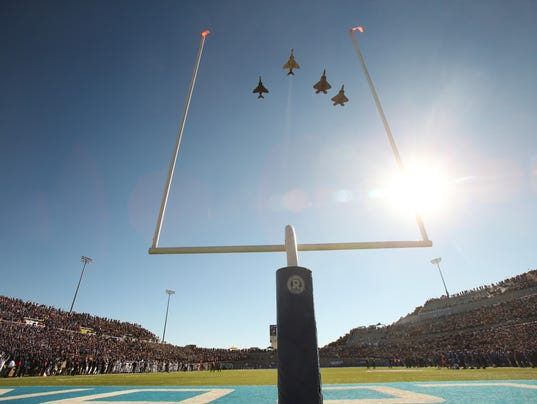 USP NCAA FOOTBALL: ARMY AT AIR FORCE S FBC USA CO