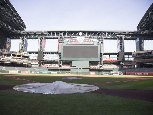 Chase Field renovations