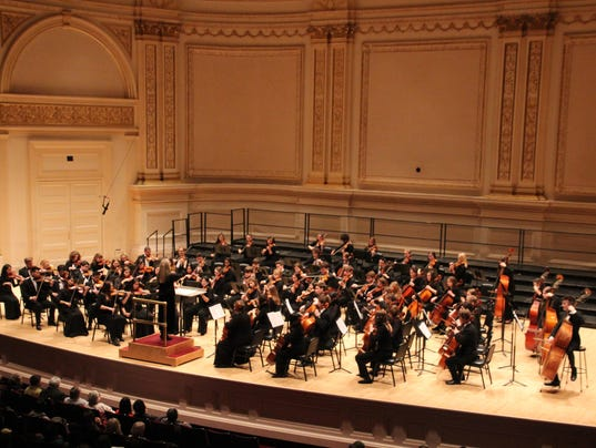 Homestead, Shorewood Students in Carnegie Hall