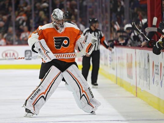 Columbus Blue Jackets v Philadelphia Flyers