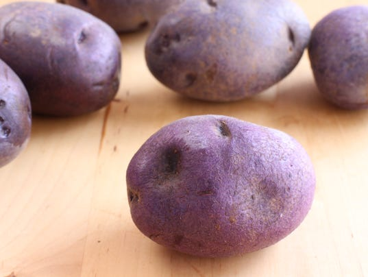 Organic Purple Potatoes