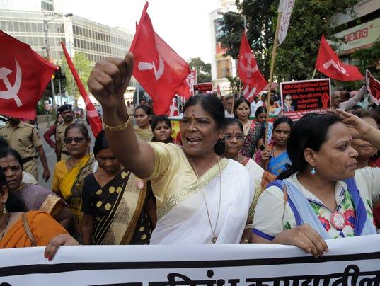 AP INDIA CASTE PROTESTS I IND