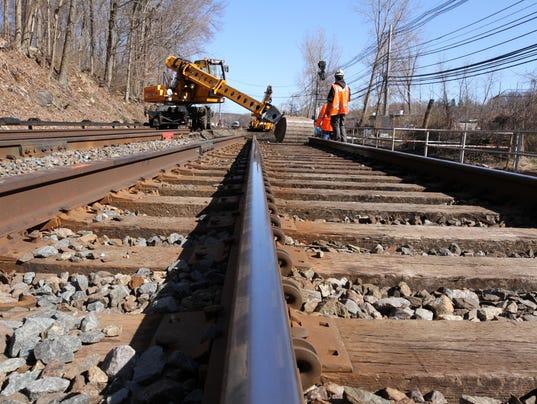 METRO NORTH RAIL REPAIRS