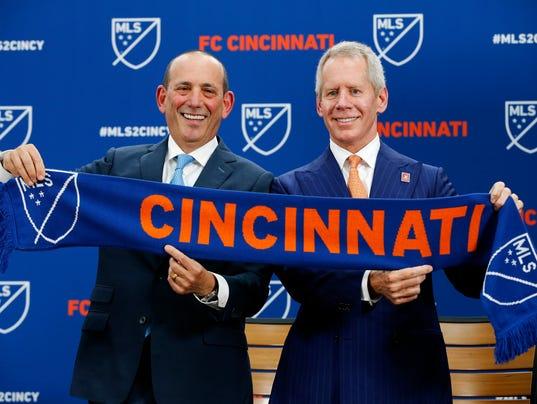 FC Cincinnati MLS Announcement