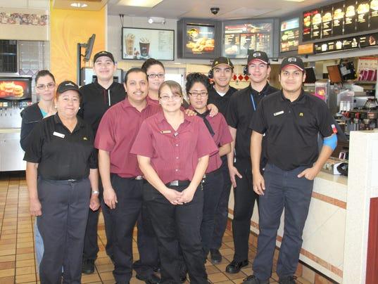 McDonald's manager earns prestigious award