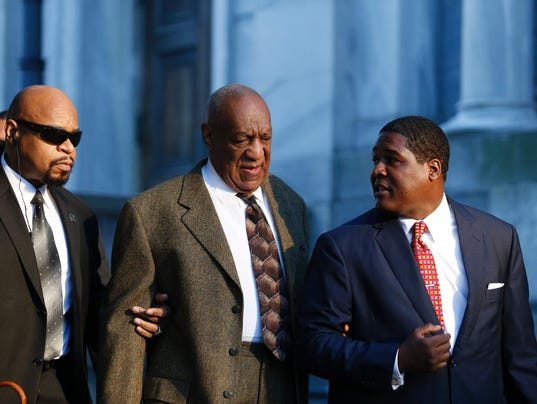 Bill Cosby arriving