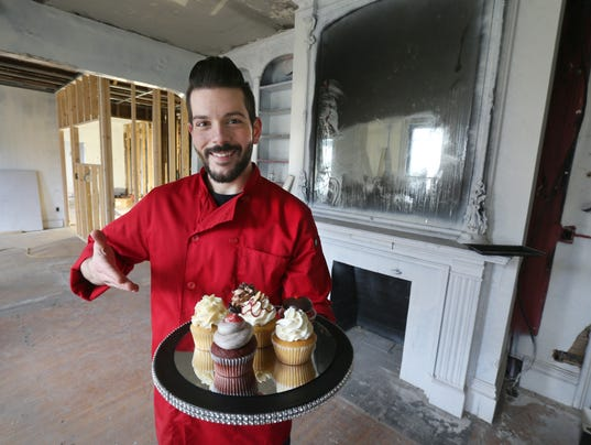 Sinful sweets will open in former sugar mountain for Leather house victor ny