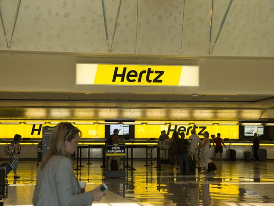 Phoenix Airport Hertz Rental Car