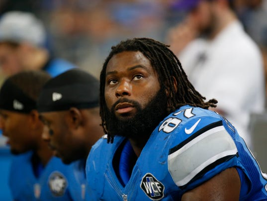 Nike NFL Youth Jerseys - PUP stay comes with salary twist for Detroit Lions' Brandon Pettigrew