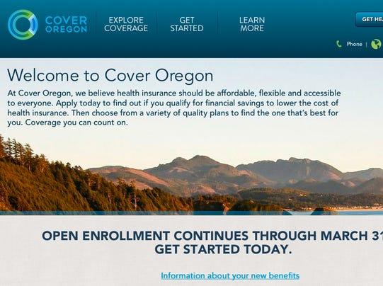 Cover Oregon