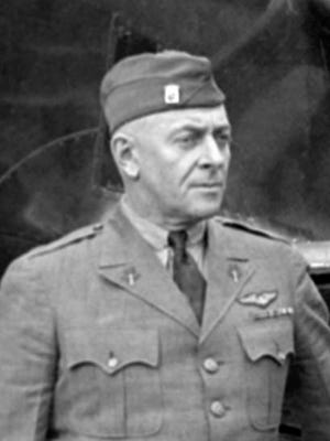 Horace Hickam during the Army Airmail program confererence in Chicago, March 16, 1934.