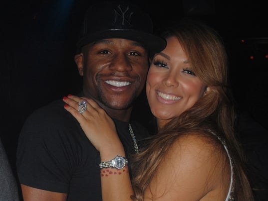 Mayweather and former fiancee