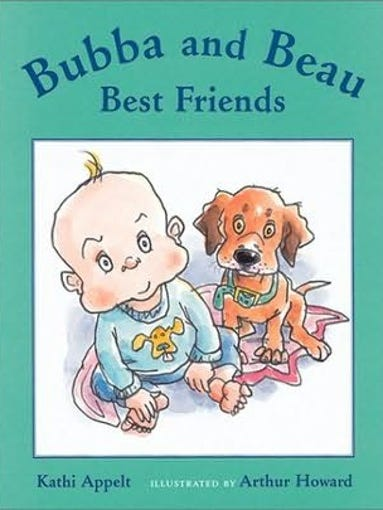 """1. """"Bubba and Beau, Best Friends,"""" (HMH Books for Young"""