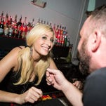 This bartender kept the drinks flowing during Dr. Fresch's set at Bar Smith's BFF Friday on August 28, 2015.