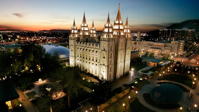 The Mormon Temple, centerpiece of Temple Square in Salt Lake City, where the headquarters of the Church of Jesus Christ of Latter-day Saints is located. The family of Joseph Bishop vigorously denies the sexual-assault allegations against him.