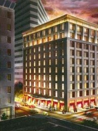 Kessler Enterprises is planning a $42.2 million project to convert a Downtown office building into a new luxury Grand Bohemian hotel.