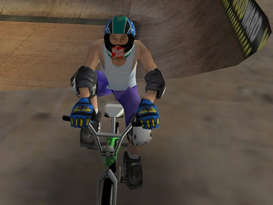 dave mirra freestyle bmx screen shot