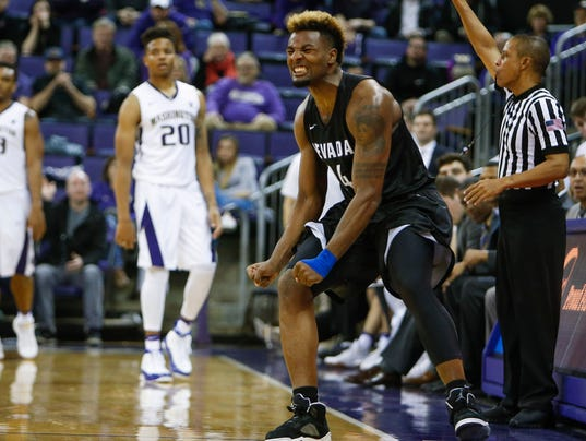 NCAA Basketball: Nevada at Washington