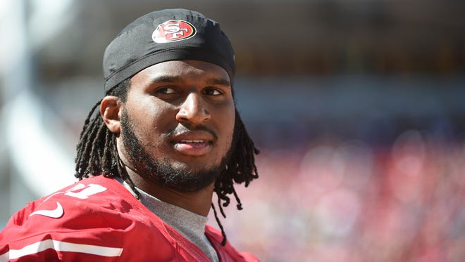 San Francisco 49ers defensive end Ray McDonaldwill play Sunday night against the Chicago Bears.