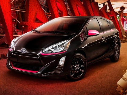 Toyota goes car noir with Prius C Persona Series